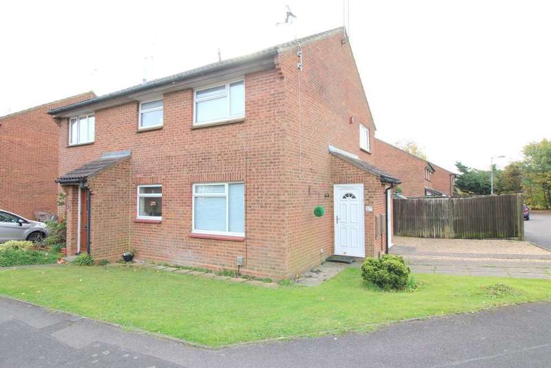 1 Bedroom Cluster House for sale in Enderby Road, Luton, Bedfordshire, LU3 2HG