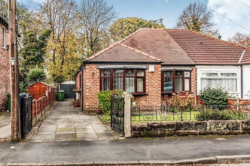 2 Bedrooms Semi Detached Bungalow for sale in Grange Road, Sale, M33