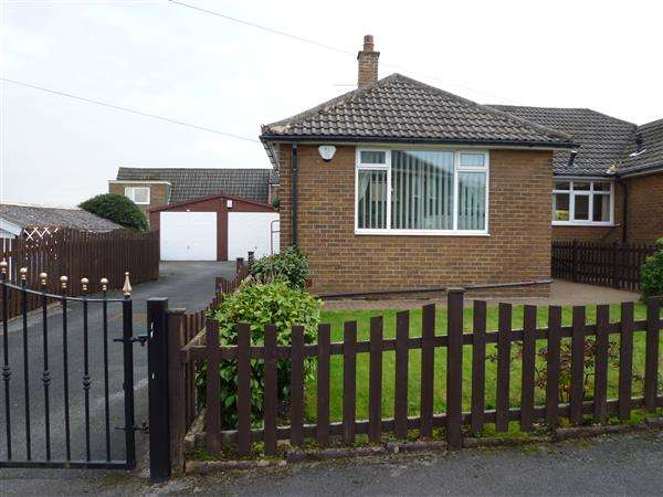 3 Bedrooms Semi Detached House for sale in Stratford Close, Golcar, Huddersfield