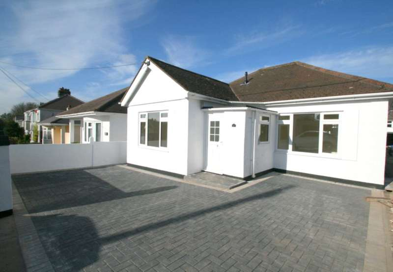 2 Bedrooms Detached Bungalow for sale in Old Woodlands Road, Crownhill