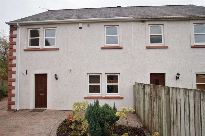 3 Bedrooms Semi Detached House for sale in CA14 4TP Beckside, Ullock, Cockermouth, Cumbria