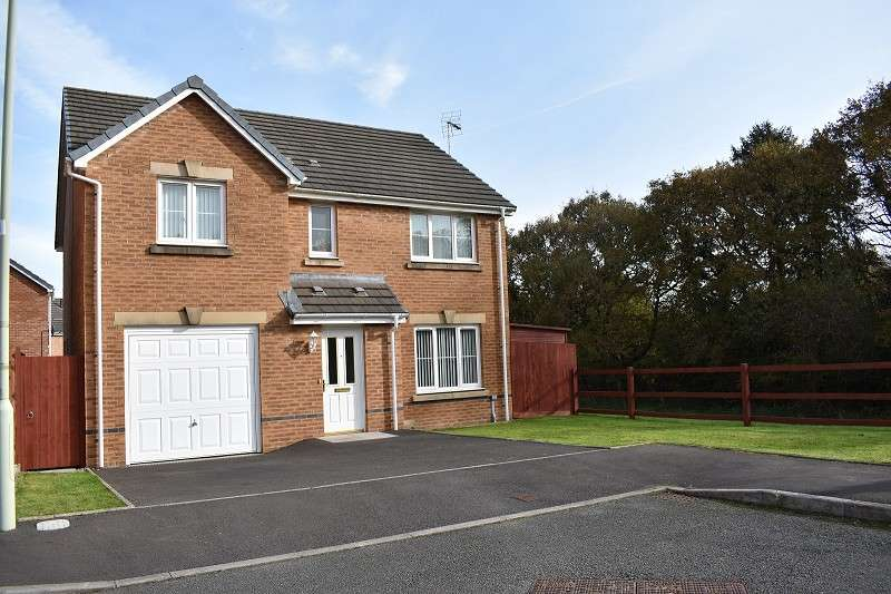 4 Bedrooms Detached House for sale in Ffordd Antwn , Tondu, Bridgend. CF32 9GD