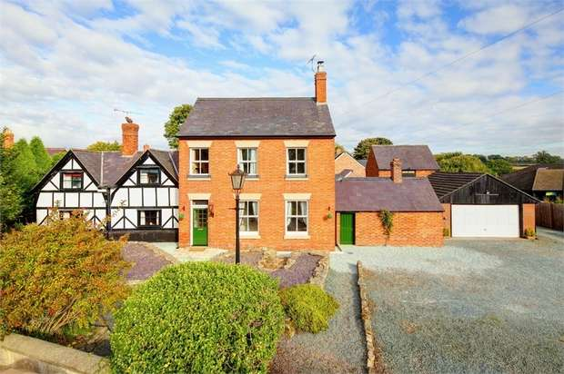 4 Bedrooms Detached House for sale in Clive, Shrewsbury, Shropshire