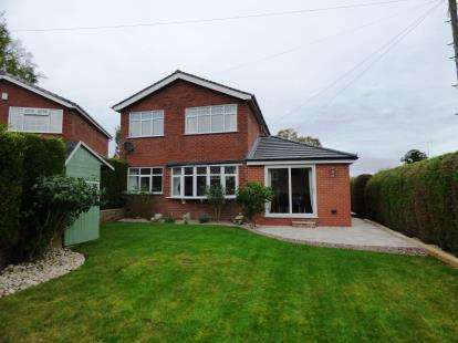 4 Bedrooms Detached House for sale in Camborne Avenue, Macclesfield, Cheshire