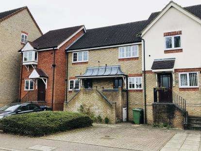 2 Bedrooms Terraced House for sale in Navigation Wharf, Eynesbury, St. Neots, Cambridgeshire