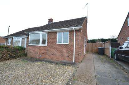 2 Bedrooms Bungalow for sale in James Road, Wellingborough, Northamptonshire