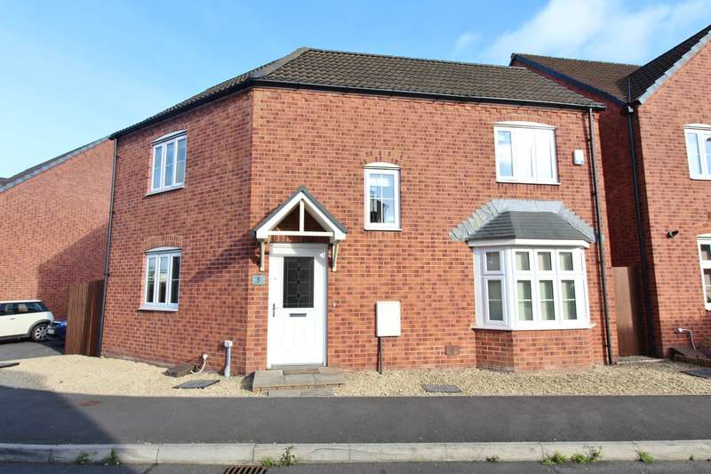 3 Bedrooms Detached House for sale in Seabreeze Avenue, Newport, NP19