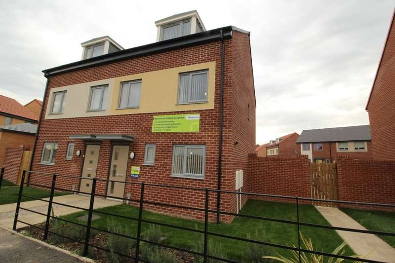 3 Bedrooms Semi Detached House for sale in John Williams Boulevard, Central Park, Darlington, DL1