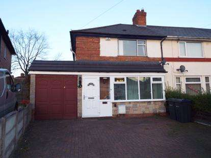 3 Bedrooms End Of Terrace House for sale in Watney Grove, Kingstanding, Birmingham, West Midlands