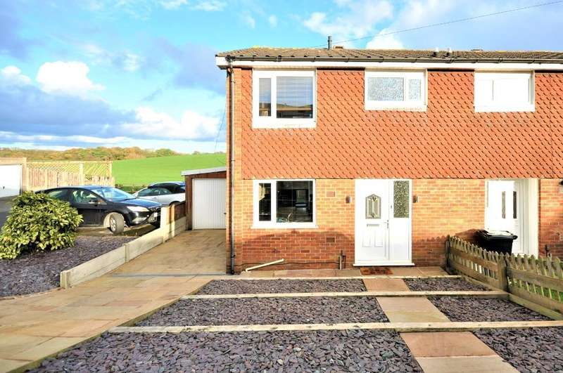 3 Bedrooms End Of Terrace House for sale in Greenhill Avenue, Wesham, Preston, Lancashire, PR4 3JF