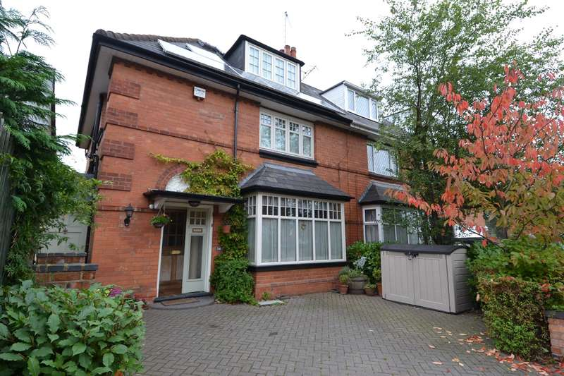 4 Bedrooms Semi Detached House for sale in Anderton Park Road, Moseley, Birmingham, B13