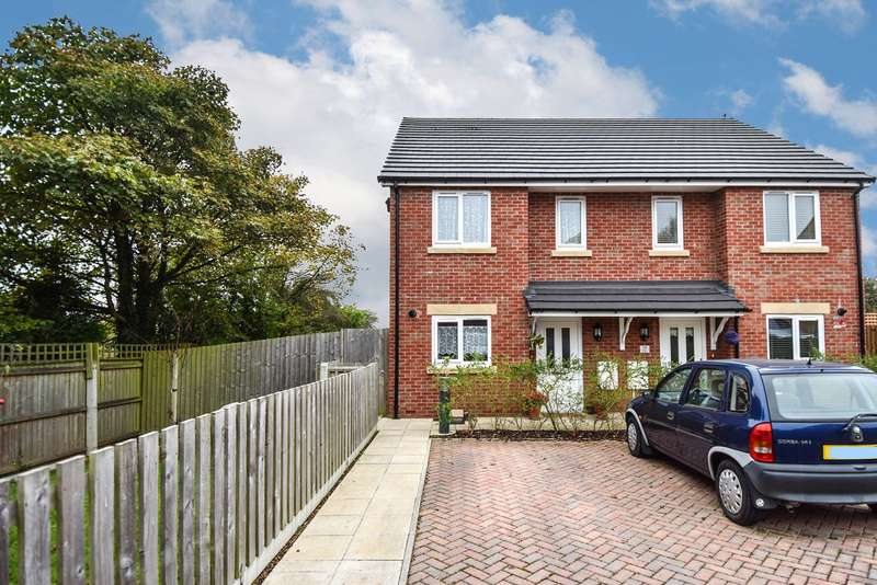 2 Bedrooms Semi Detached House for sale in Waverley Crescent, Romsley, Halesowen, B62