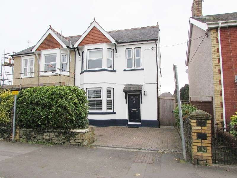4 Bedrooms Semi Detached House for sale in 25 Coychurch Road, Pencoed, Bridgend. CF35 5LY