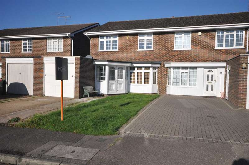 4 Bedrooms Semi Detached House for sale in Willowdene, Brentwood