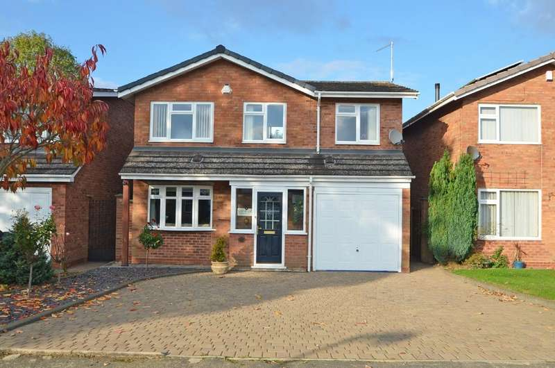 3 Bedrooms Detached House for sale in Buccleuch Close, Dunchurch , Rugby