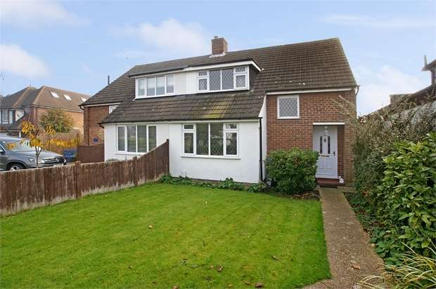 3 Bedrooms Semi Detached House for sale in Rydens Road, Walton-on-Thames, Surrey