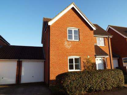 3 Bedrooms Link Detached House for sale in Downham Market, Norfolk
