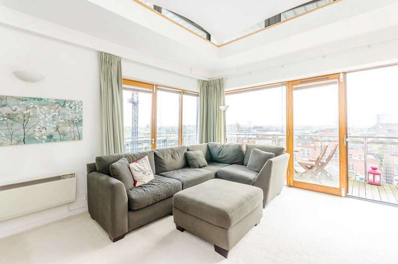 2 Bedrooms Penthouse Flat for sale in The Grange, Kilburn, NW6
