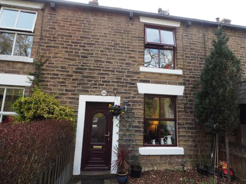 2 Bedrooms Terraced House for sale in Glossop Road, Little Hayfield, High Peak, Derbyshire, SK22 2NG