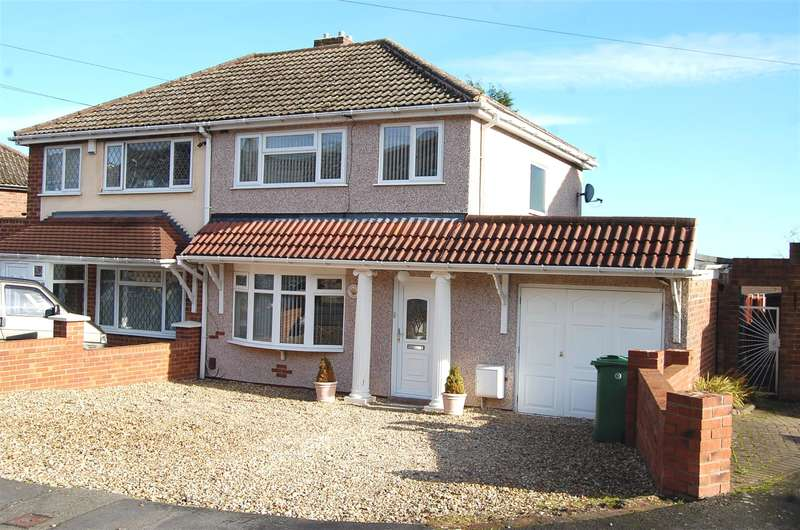 3 Bedrooms Semi Detached House for sale in Maslin Drive, Hurst Hill, Coseley, WV14 9AF