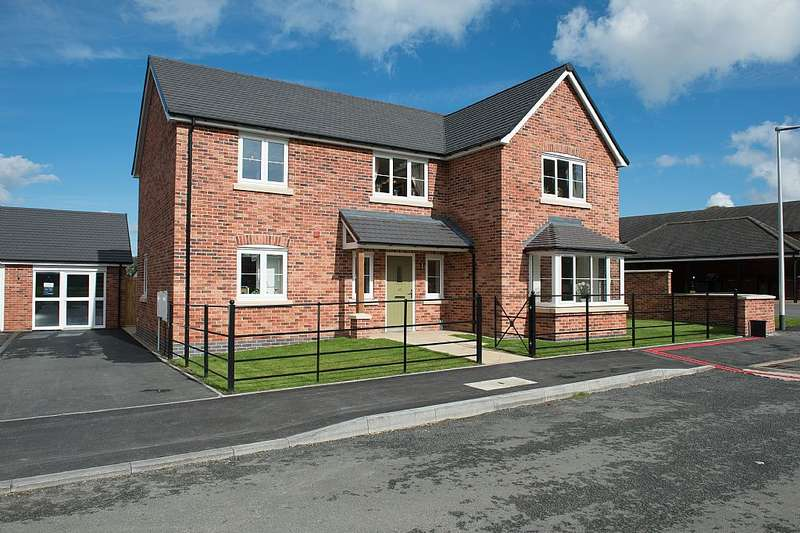 4 Bedrooms Detached House for sale in Prescott Court, Baschurch, Shrewsbury, Shropshire, SY4 2BF