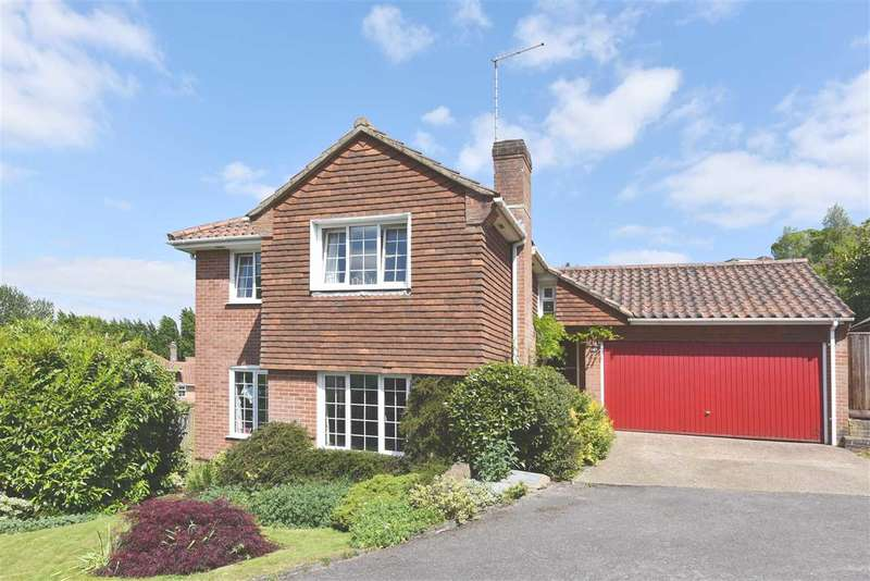 4 Bedrooms Detached House for sale in REDCROFT LANE, BURSLEDON