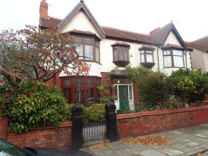 5 Bedrooms Semi Detached House for sale in Uppingham Road, Liverpool, Merseyside, England, L13
