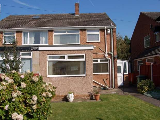 3 Bedrooms Semi Detached House for rent in Fairway South, Bromborough, Merseyside