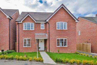 4 Bedrooms Detached House for sale in Egremont Close, Evesham, Worcestershire