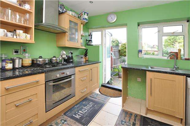 3 Bedrooms End Of Terrace House for sale in Kingsdown Avenue, South Croydon, Surrey, CR2 6QR