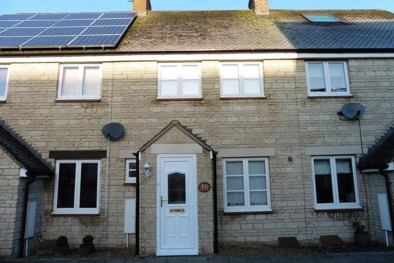 2 Bedrooms Terraced House for rent in Hazel Close, Witney, Oxon, OX28 1EL