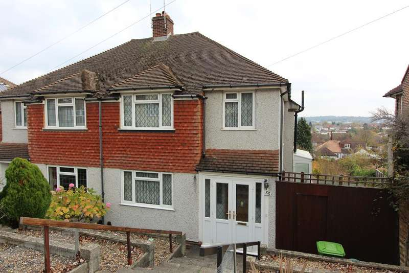 3 Bedrooms Semi Detached House for sale in Newstead Avenue, Orpington, Kent, BR6 9RW