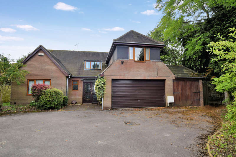 4 Bedrooms Detached Bungalow for sale in Crabmill Close, Knowle, Solihull