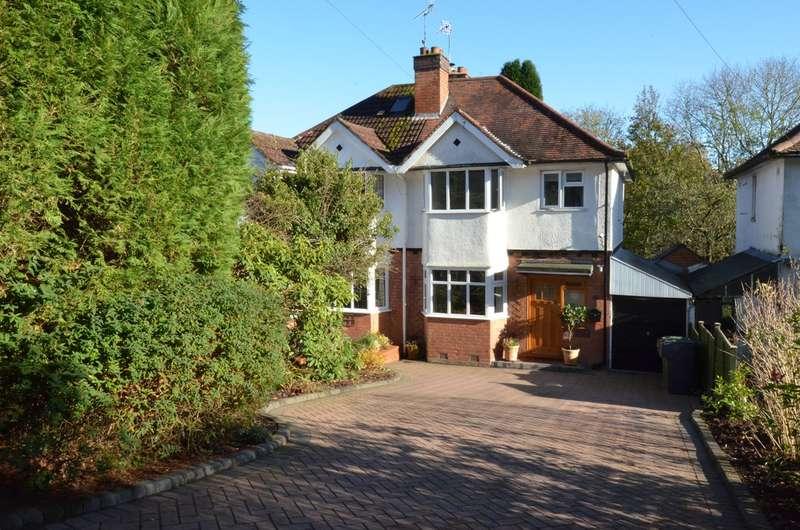 3 Bedrooms Semi Detached House for sale in Barnt Green Road, Cofton Hackett, Birmingham, B45