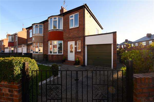3 Bedrooms Semi Detached House for sale in Kentmere Avenue, Newcastle upon Tyne