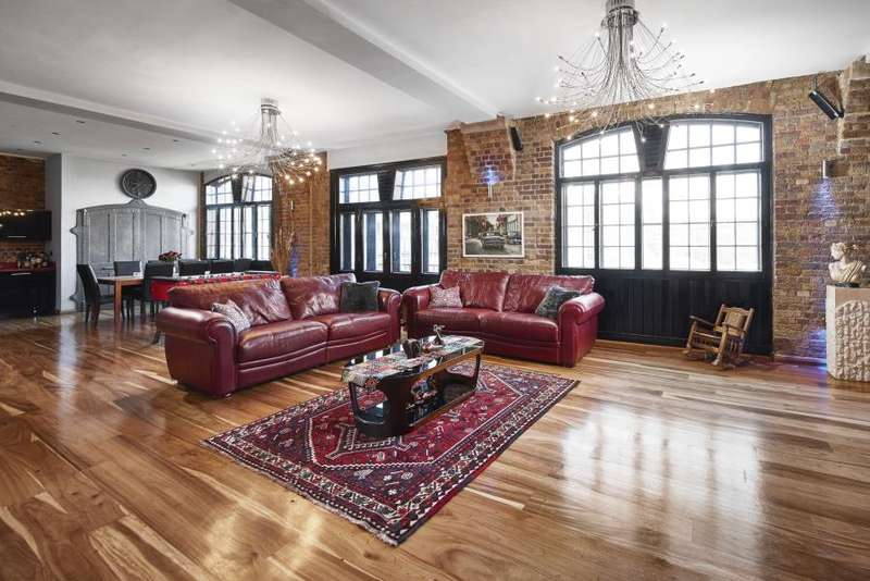 4 Bedrooms Flat for sale in Telfords Yard, Wapping,London, E1W