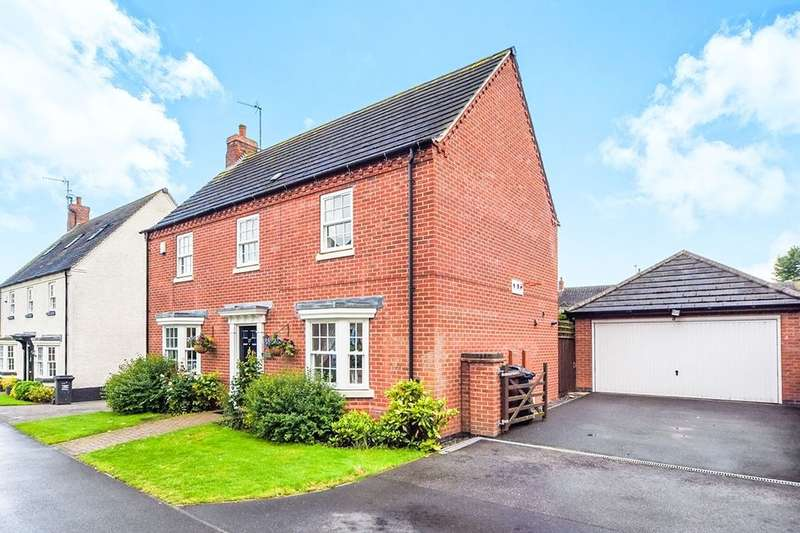 4 Bedrooms Detached House for rent in Ruskin Field, Anstey, Leicester, LE7