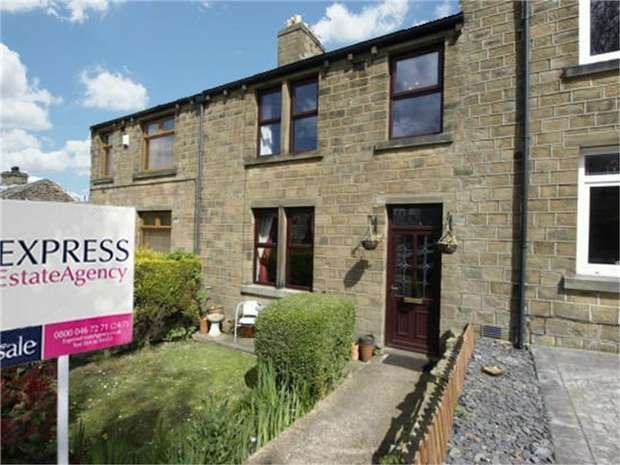 3 Bedrooms Terraced House for sale in Cumberworth Lane, Lower Cumberworth, Huddersfield, West Yorkshire