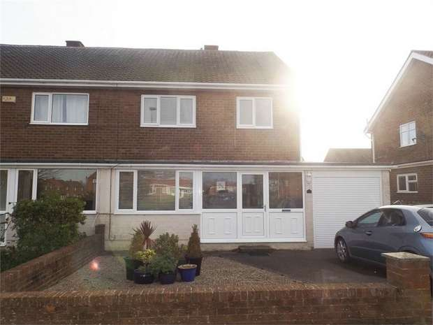 3 Bedrooms Semi Detached House for sale in Sycamore Road, Kimblesworth, Chester le Street, Durham