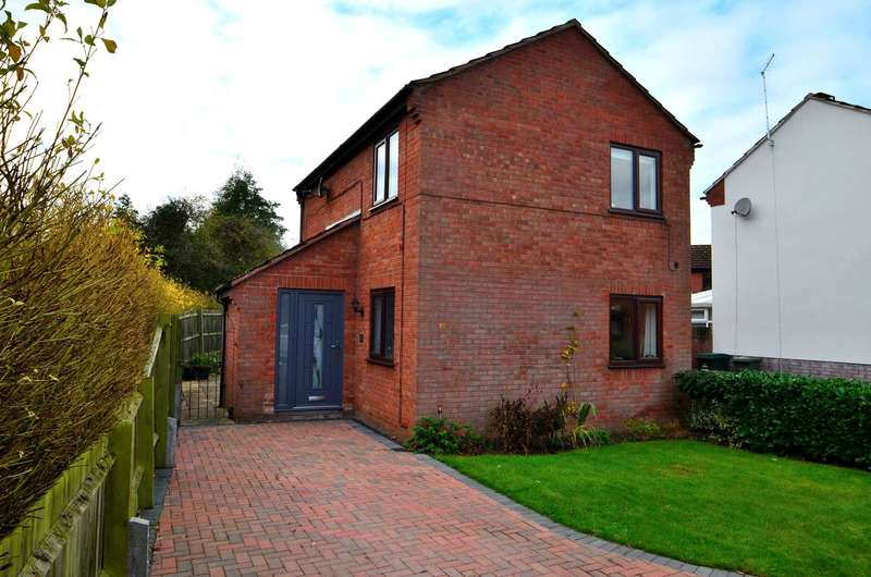 3 Bedrooms Detached House for sale in Kimbolton Court, Giffard Park