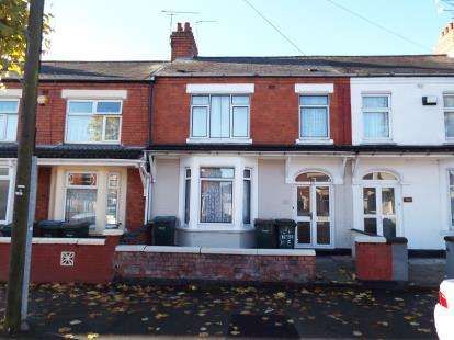 3 Bedrooms Terraced House for sale in Churchill Avenue, Coventry, West Midlands
