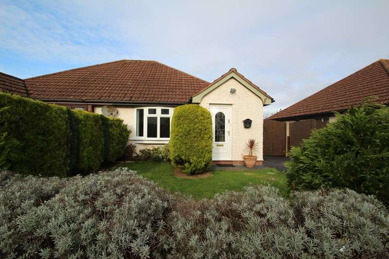 2 Bedrooms Semi Detached Bungalow for sale in Moraunt Drive, Fareham