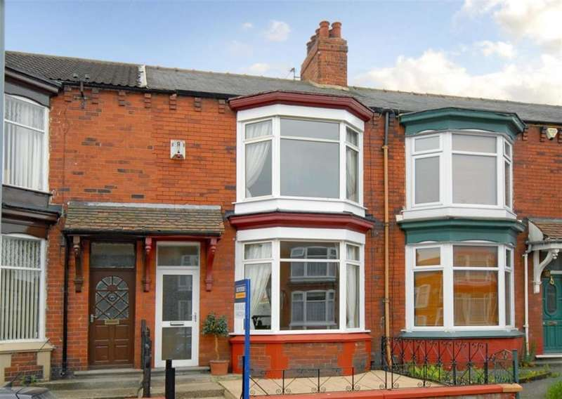 3 Bedrooms Terraced House for sale in Rockliffe Road, Linthorpe, Middlesbrough, TS5 5DN
