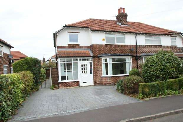 3 Bedrooms Semi Detached House for sale in Cholmondeley Avenue, Timperley