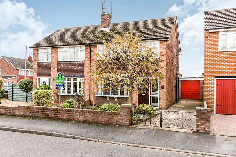 3 Bedrooms Semi Detached House for sale in Manor Road, Barnby Dun, Doncaster, DN3