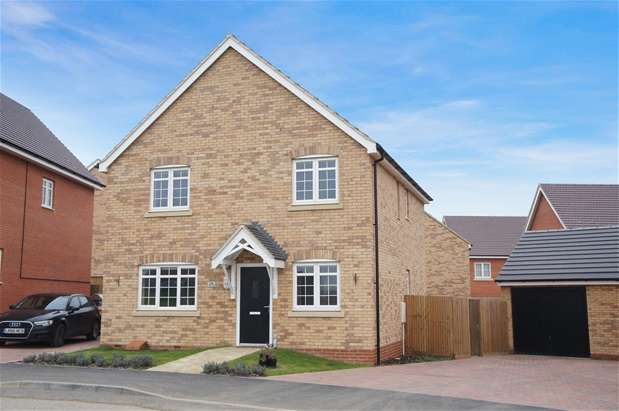 4 Bedrooms Detached House for sale in Hastings Crescent, New Cardington