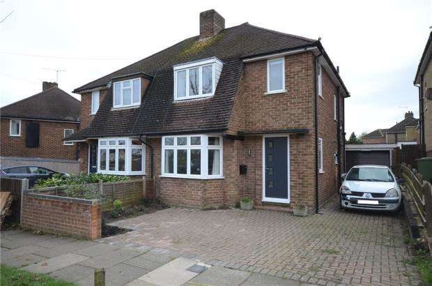 3 Bedrooms Semi Detached House for sale in Orchard Way, Aldershot, Hampshire