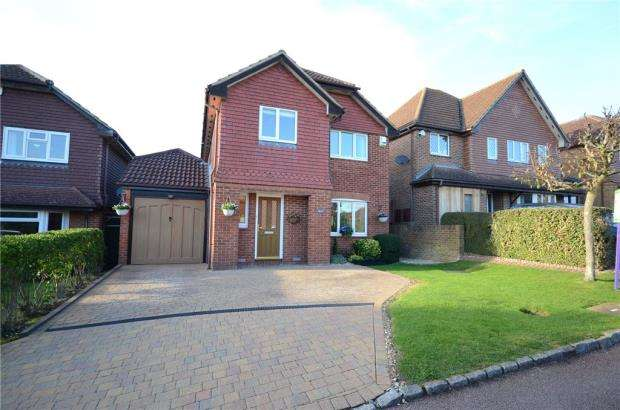 4 Bedrooms Detached House for sale in Saunders Close, Twyford, Reading