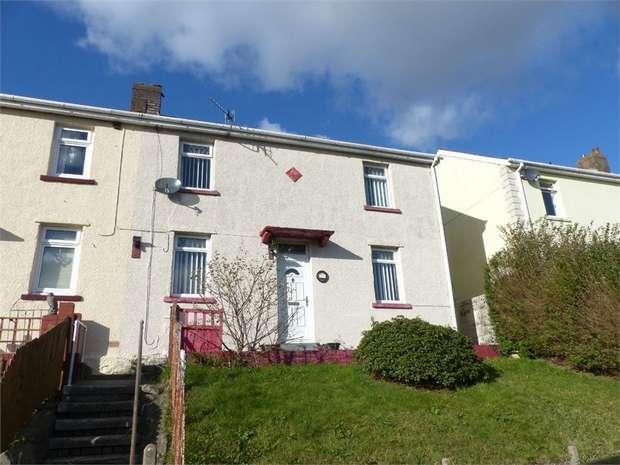 3 Bedrooms Semi Detached House for sale in Heol Aelfryn, Pantyrawel, Bridgend, Mid Glamorgan