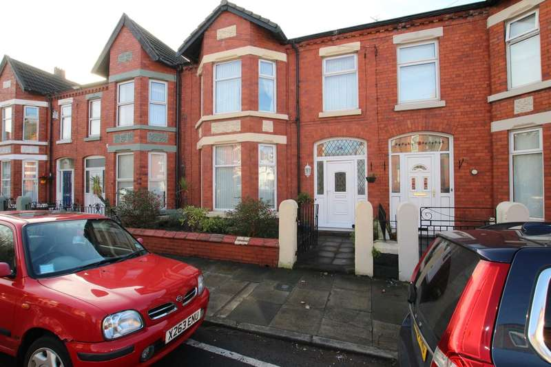 3 Bedrooms Terraced House for sale in Hougoumont Avenue, Waterloo, Liverpool, L22